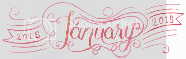 Happiness is... free printable January 2015 calendar and planner