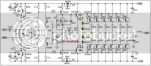 Draw your wiring : Sakura Amp Circuit
