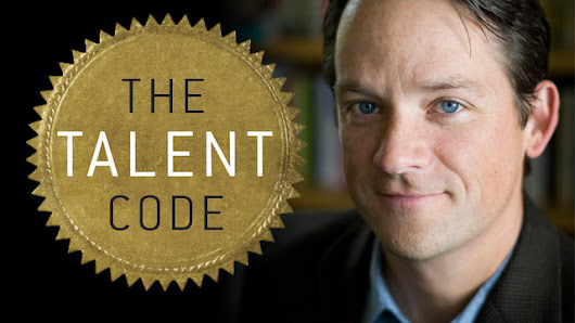 """Greatness isn't born. It's grown. Here is How."" Talent Code by Daniel  Coyle"