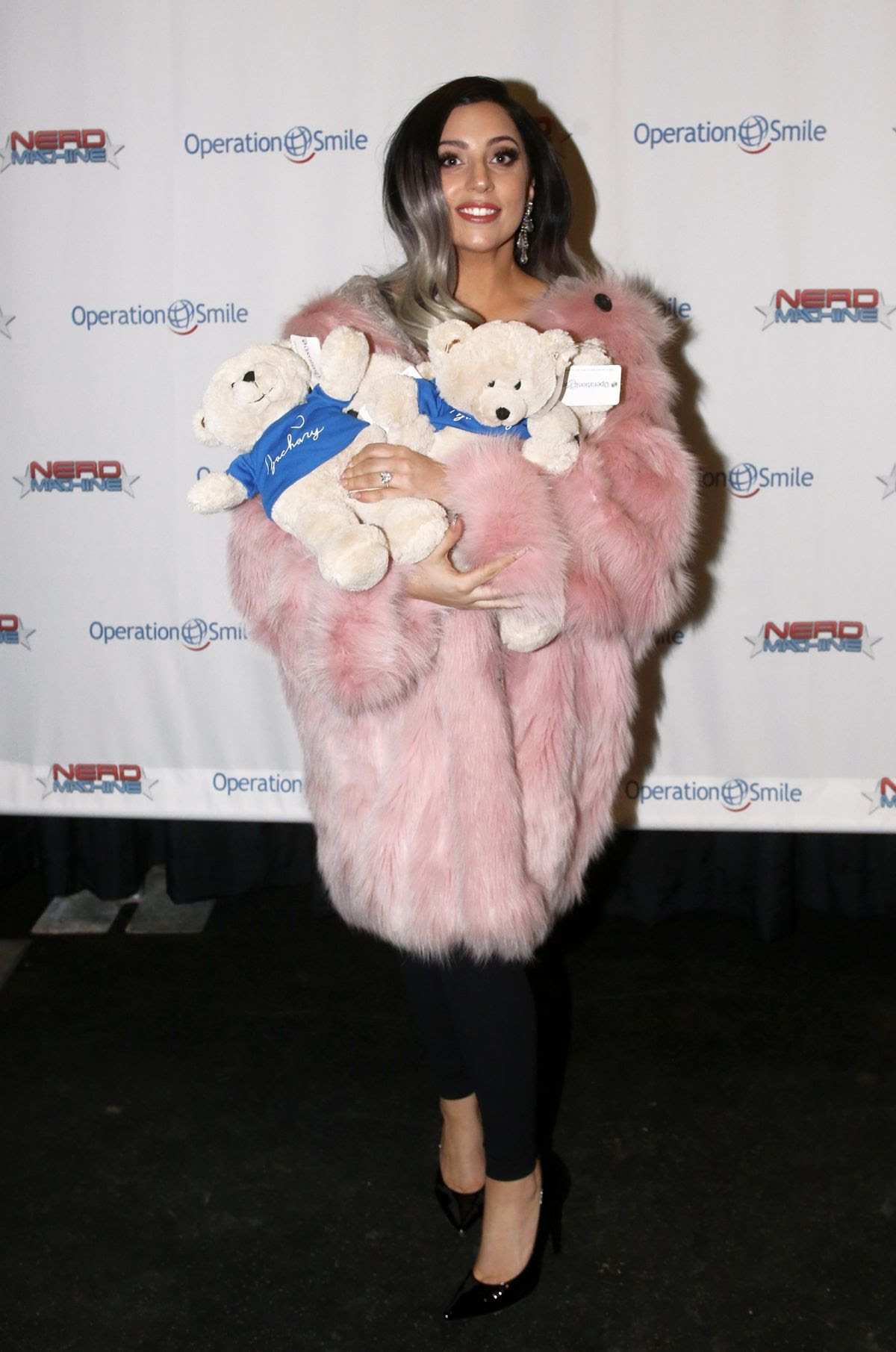 LADY GAGA at Operation Smile's Celebrity Ski & Smile Challenge in Utah