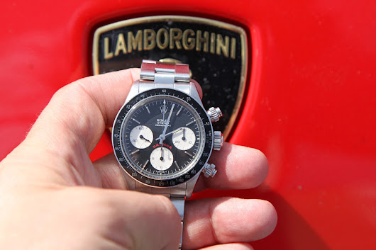 "Lamborghini Life with the Classic Rolex Daytona 6263 ""Big Red"""