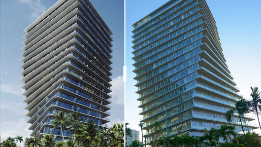 Completed Miami developments matched up against their renderings