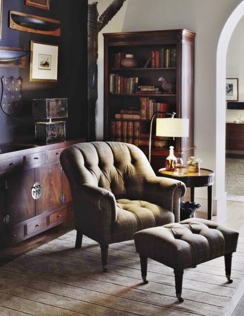 furniture-meubles:  Baker Furniture Milling Road Collection.  Gentleman's Escape.