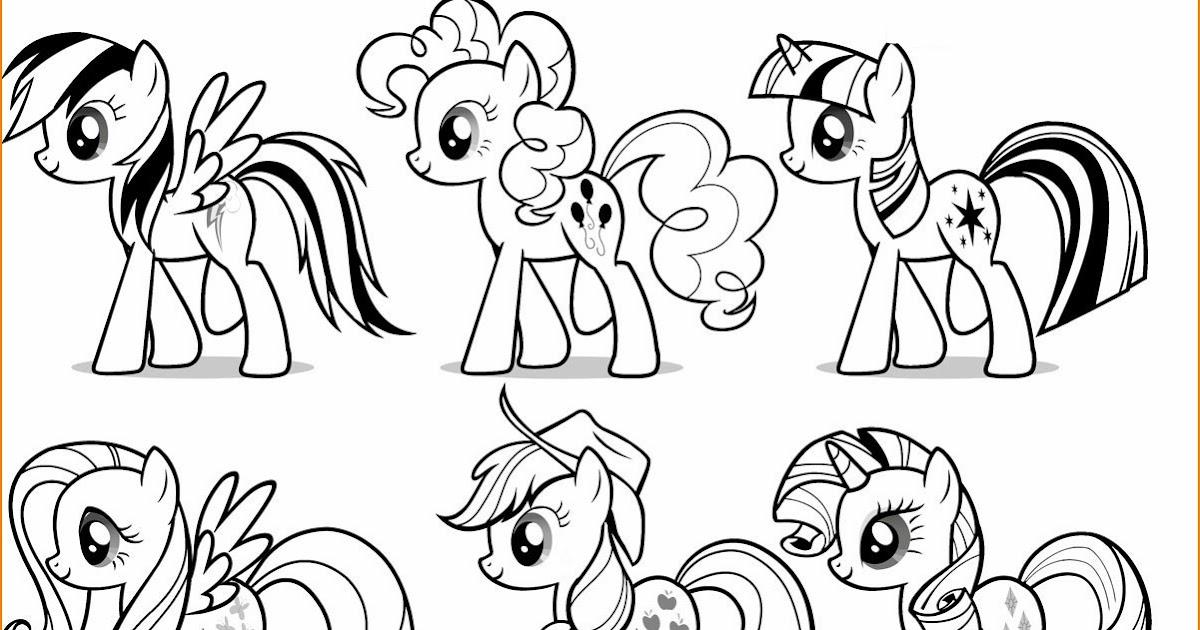 25 Koleksi Populer Gambar Animasi Kartun My Little Pony