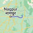 Nagpur, Maharashtra to Nagzira Wildlife Sanctuary - Google Maps