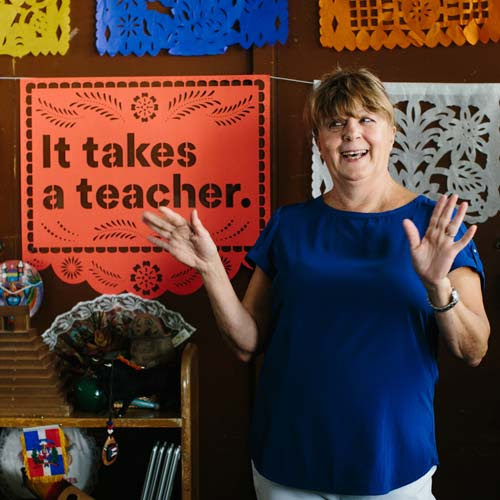 It Takes a Teacher