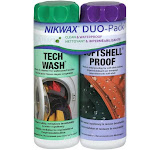 Nikwax Tech Wash & Softshell Proof Twin Pack - 10 fl oz cans
