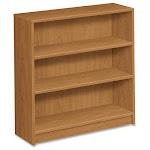 "Hon 1872 Bookcase - 36"" X 11.5"" X 36.1"" - Particleboard - 3 X Shelf[ves] - Abrasion Resistant, Leveling Glide - Harvest (1872C)"