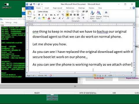 Mobile Firmware Free Download: Work on Secure Boot phone