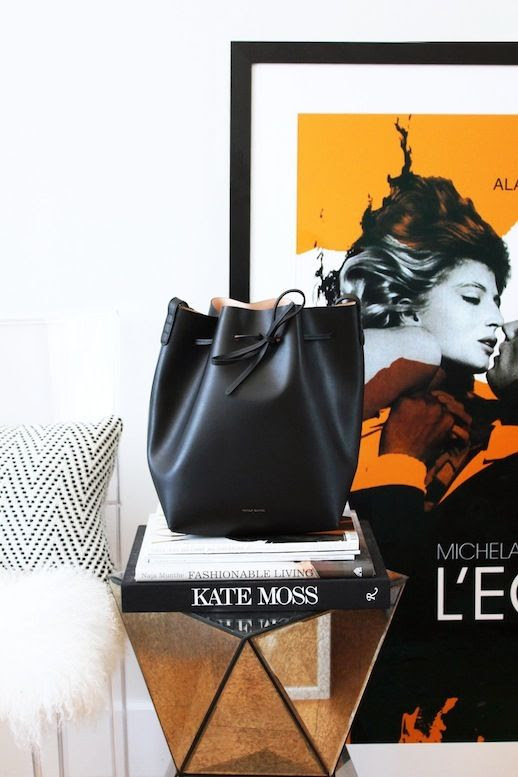Le Fashion Blog Mansur Gavriel Black Ballerina Interior Bucket Bag The Line Brooklyn Apartment Home Decor Kate Moss Coffee Table Book L'Eclisse Monica Vitti Framed Poster West Elm Faceted Mirrored Side Table Clear Ghost Chair Nate Berkus Target Pillow Mongolian Fur Chair Cover 1 photo Le-Fashion-Blog-Mansur-Gavriel-Black-Ballerina-Bucket-Bag-TheLine-Brooklyn-Apartment-Home-Decor-1.jpeg