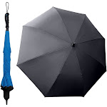 Better Brella 1037 Wind-Proof Reverse Open Upside Down wide Umbrella - Blue