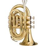 Ravel RPKT1 - Pocket trumpet - Bb key - brass - lacquered - brass