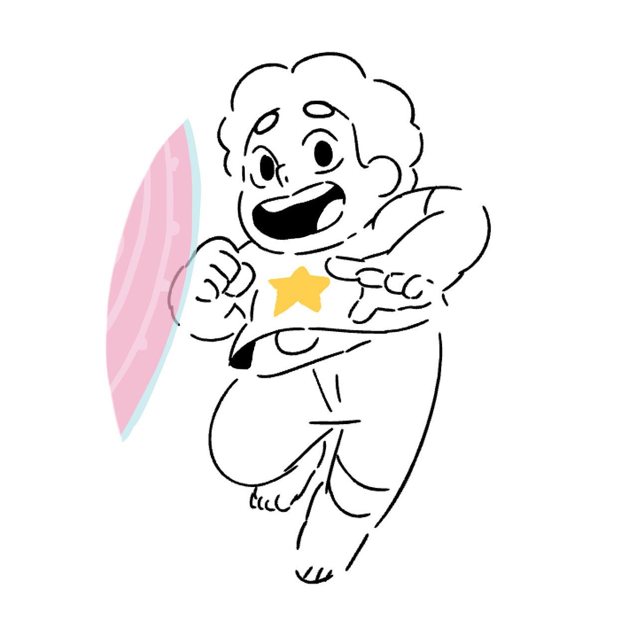 i drew a steven!