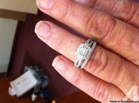 Wedding ring set designed Vera Wang from ZALES for Sale in