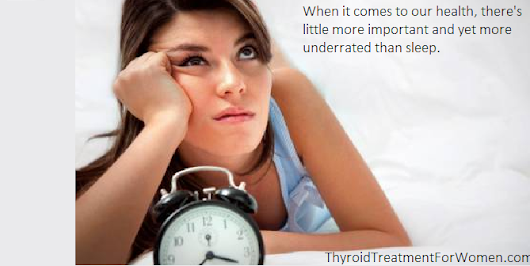 7 Tips For Sleeping Better With Hypothyroidism
