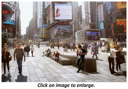 """Crossroads of the World"" 40-Million-Dollar Redesign Completed"