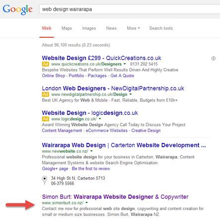 Web Page Review: Web Design Firm Gets SEO/Conversion Pointers - Marketing Words Blog
