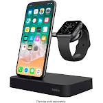 Belkin - Valet Charging Dock for iPhone and Apple Watch - Black