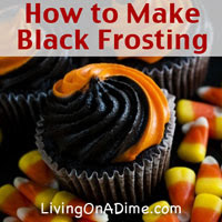 How to Make Black Frosting - Start With A Chocolate Base