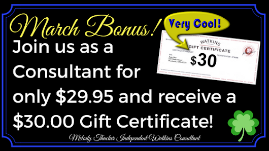 Don't Miss Out On This Thirty Dollar Bonus