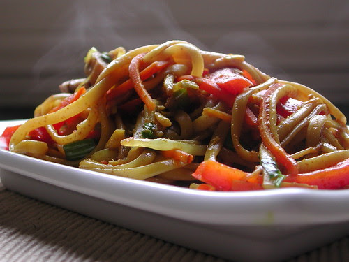 Curried Lo Mein