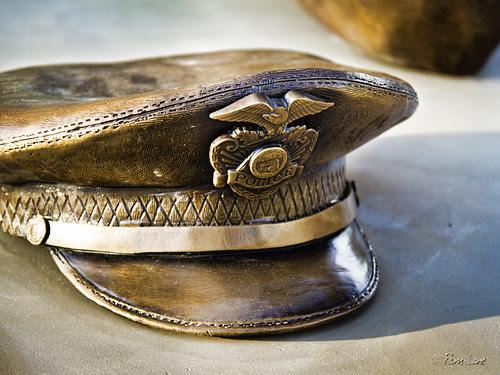Downey police memorial cap
