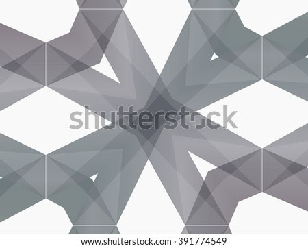 Gray Abstract Pattern With Smooth Lines. - Vintage Decorative Elements | Geometric Abstract Wallpaper- Low-Poly Background With Copy-Space. Template For Style Design. Stock Photo 391774549 : Shutterstock