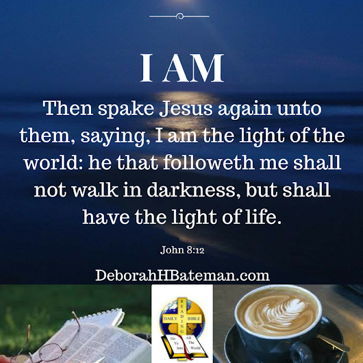 "Daily Bible Reading ""I Am the Light of the World"" (John 8:12)"