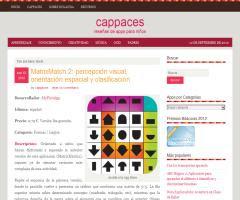 Cappaces, reseñas de apps para niños