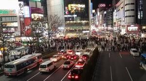 渋谷ハチ公前交差点