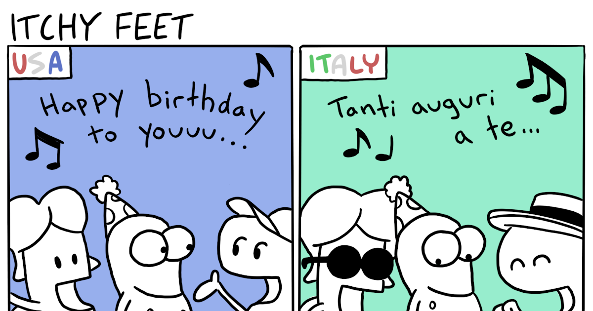 Itchy Feet The Travel And Language Comic Foreign Lyrics