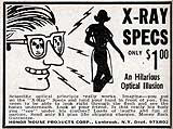 X-ray specs - dream of every boy