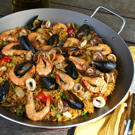 How I ate my first Paella, in Spain
