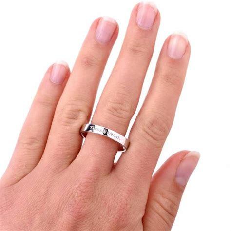 tiffany   mens platinum wedding ring  sale