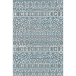 Soft Touch Faded Area Rug 3' x 5' / Light Blue