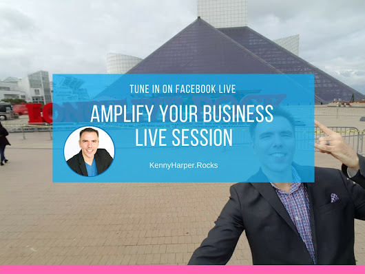 Gain Business Growth Strategies on My Facebook Live Sessions - Kenny Harper