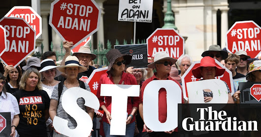 Queensland councils say they won't own Adani airport despite paying $34m | Business | The Guardian
