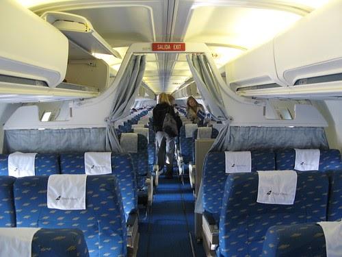 Airtravel Photos Inside Boeing 757 200