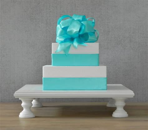 Square cake stands for weddings   idea in 2017   Bella wedding