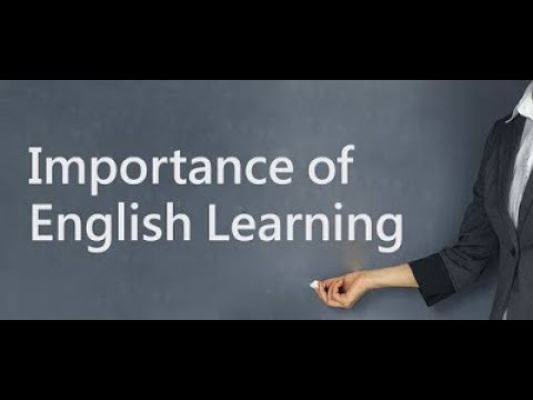 The Importance of Learning English (PARAGRAPH)