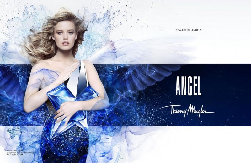 angel thierry mugler fragrance ad campaign georgia may jagger 800x522 Revealed: Georgia May Jagger in Thierry Mugler Angel Fragrance Ad