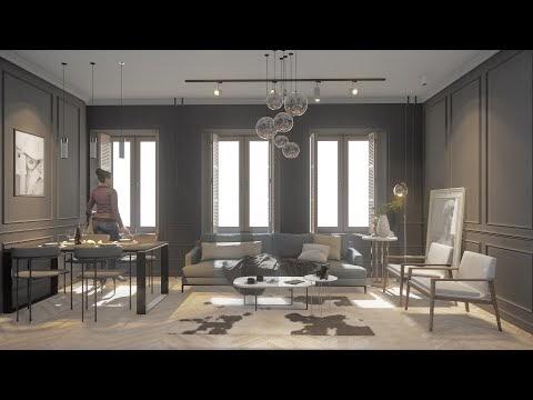 Interior Animation - Dining & Living