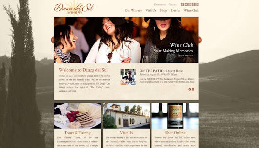 Case Study: Danza del Sol Winery - Temecula, CA - Xüdle Cloudware for Wineries