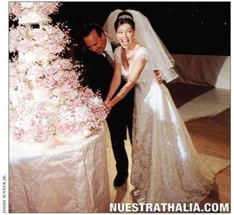 Thalia Wedding Cake   Cutting our wedding cake. Every