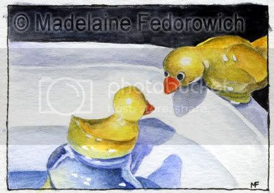 Just Ducky ACEO
