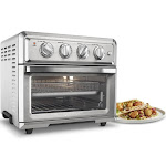 Cuisinart Air Fryer Toaster Oven With Light - Stainless - TOA-60