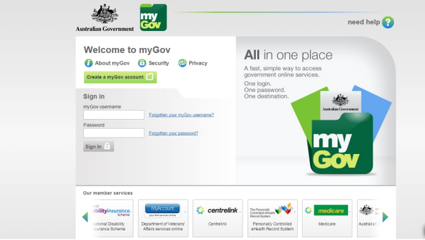 Australians can access a range of government services through the myGov portal, including tax services.