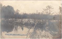 Dam, Lake George, PM 1908
