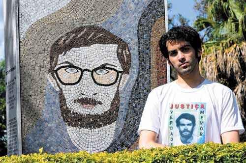 Mateus Guimarães, sobrinho de Honestino: série de questionamentos quanto ao desaparecimento do tio (Gustavo Moreno/CB/D.A. Press - 4/4/12)