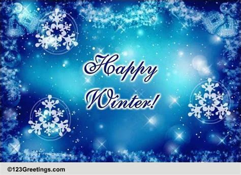 Winter Wonderland! Free Happy Winter eCards, Greeting